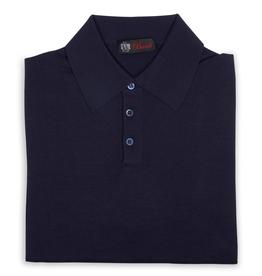 Cashmere / Silk Polo Sweater