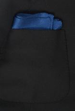 Silk Knit Pocket Square, Blue
