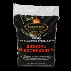 LUMBERJACK 100% HICKORY PELLETS (20LB BAG)