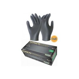AIRDRIE CANVAS NITRILE GLOVES - LARGE