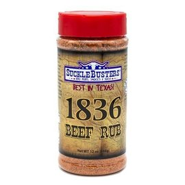 SUCKLEBUSTERS SUCKLEBUSTERS - 1836 BBQ RUB