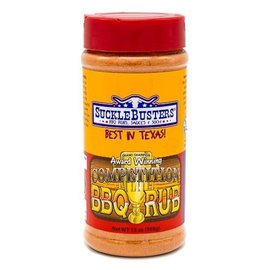 SUCKLEBUSTERS SUCKLEBUSTERS - COMPETITION BBQ RUB - LARGE
