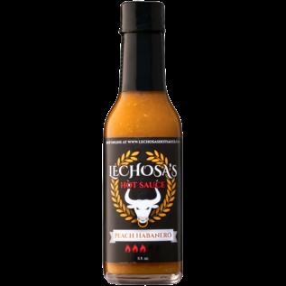 Lechosa Hot Sauce (Peach Habanero)