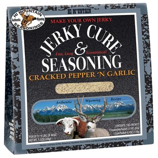 Hi Mountain JERKY CURE (CRACKED PEPPER & GARLIC)