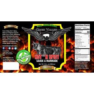 CROIX VALLEY CROIX VALLEY - HOT & SPICY BBQ SAUCE