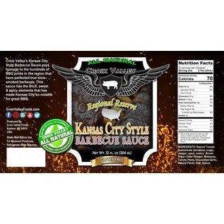 CROIX VALLEY CROIX VALLEY - KANSAS CITY STYLE SAUCE
