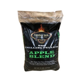 LUMBERJACK LUMBERJACK - APPLE BLEND WOOD PELLETS (20LB BAG)