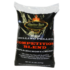 LUMBERJACK LUMBERJACK - COMPETITION BLEND WOOD PELLETS (20LB BAG)