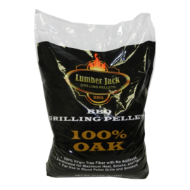 LUMBERJACK LUMBERJACK -100% OAK WOOD PELLETS (20LB BAG)