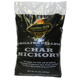 LUMBERJACK LUMBERJACK - CHAR HICKORY BLEND WOOD PELLETS (20LB BAG)