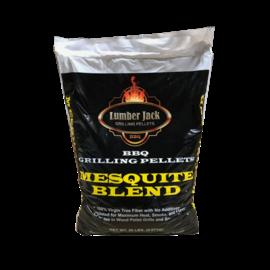 LUMBERJACK MESQUITE BLEND WOOD PELLETS (20LB BAG)