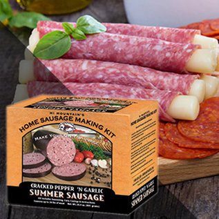 Hi Mountain Sausage Kit (Cracked Pepper & Garlic)