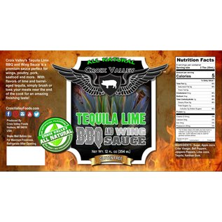 CROIX VALLEY CROIX VALLEY LIME BBQ WING SAUCE
