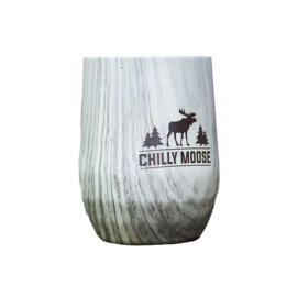 CHILLY MOOSE CHILLY MOOSE - 12OZ BOAT HOUSE WINE TUMBLER