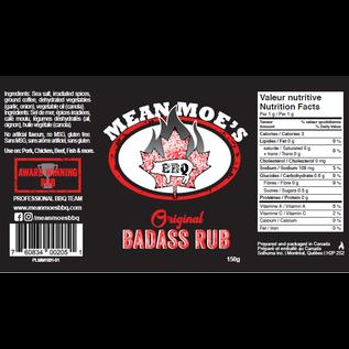 MEAN MOES BBQ MEAN MOES BBQ - BADASS ORIGINAL RUB