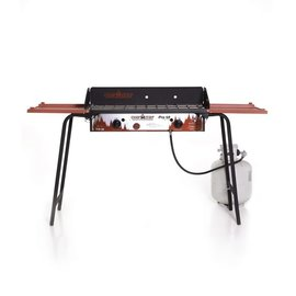CAMPCHEF PRO 60 DELUXE TWO BURNER COOKING SYSTEM