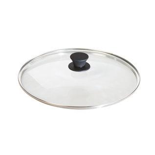 "LODGE GLASS LID WITH KNOB (12"" )"