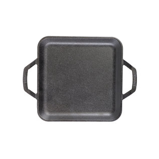 """LODGE CHEF'S COLLECTION 11"""" SQUARE GRIDDLE"""