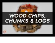 Wood Chips, Chunks & Logs