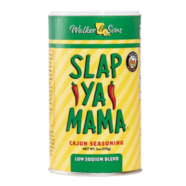 SLAP YA MOMMA SLAP YA MAMA - LOW SODIUM - CAJUN SEASONING
