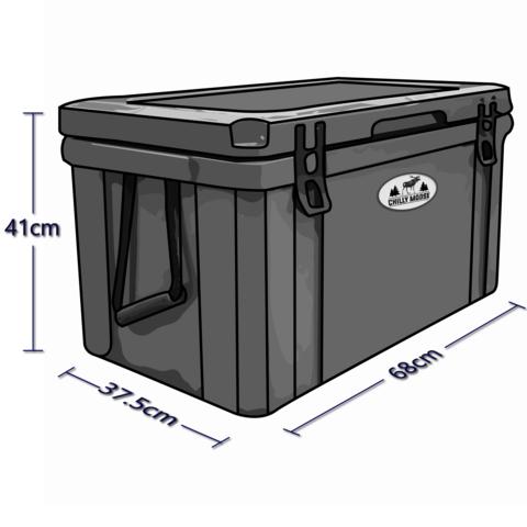 55 LTR Cooler Dimensions
