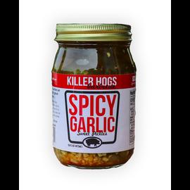 KILLER HOG SPICY GARLIC PICKLES