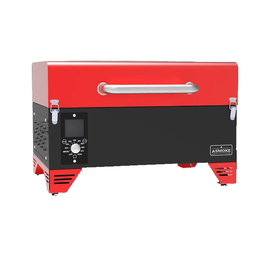 ASMOKE AS300 PORTABLE PELLET GRILL (RED)