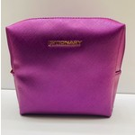 Vegan Leather Lip Bag - Purple