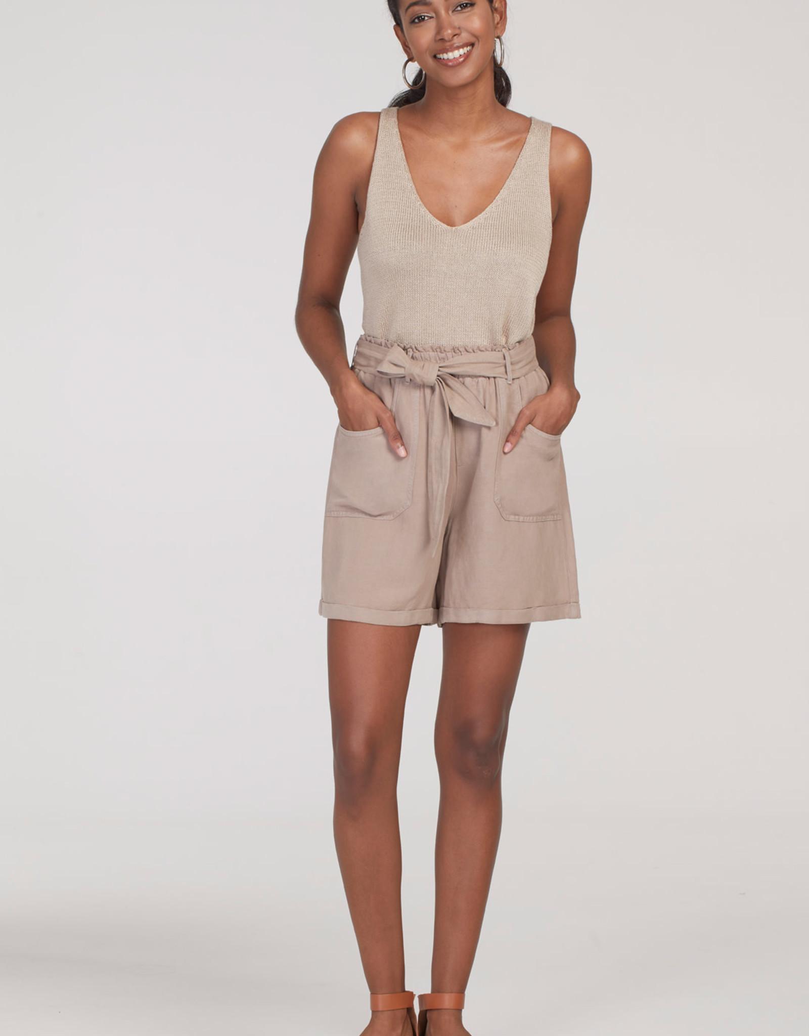 Tribal Tribal 6891O Paperbag Shorts