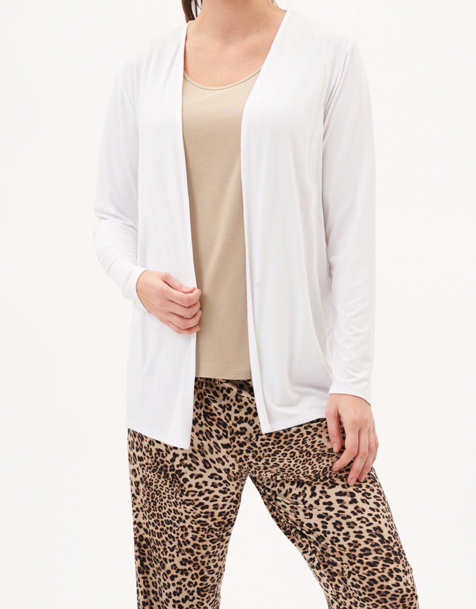 UP! Up! 30189 Open Long Sleeve Cardigan
