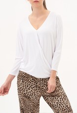 UP! Up! 30187 Crossover 3/4 Sleeve Top