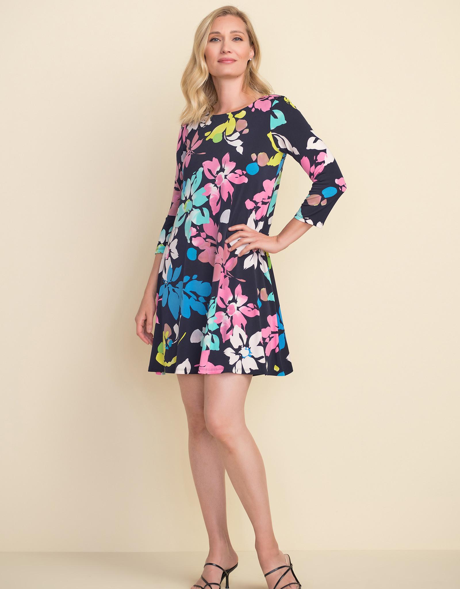 Joseph Ribkoff Joseph Ribkoff 212219 3/4 Sleeve Floral Dress