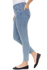 French Dressing Jeans FDJ 2933779 Olivia Slim Ankle Denim with Tiny Heart Polka Dots