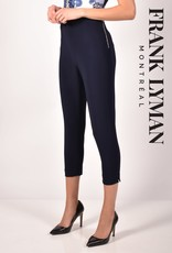 Frank Lyman Frank Lyman 211022 Knit Capri Pant with Zipper at the Left side of the Waistband
