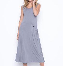Picadilly Picadilly  MR631 1 Pocket Tank Dress