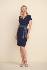 Joseph Ribkoff Joseph Ribkoff 212039 Short Sleeve Faux Wrap Dress