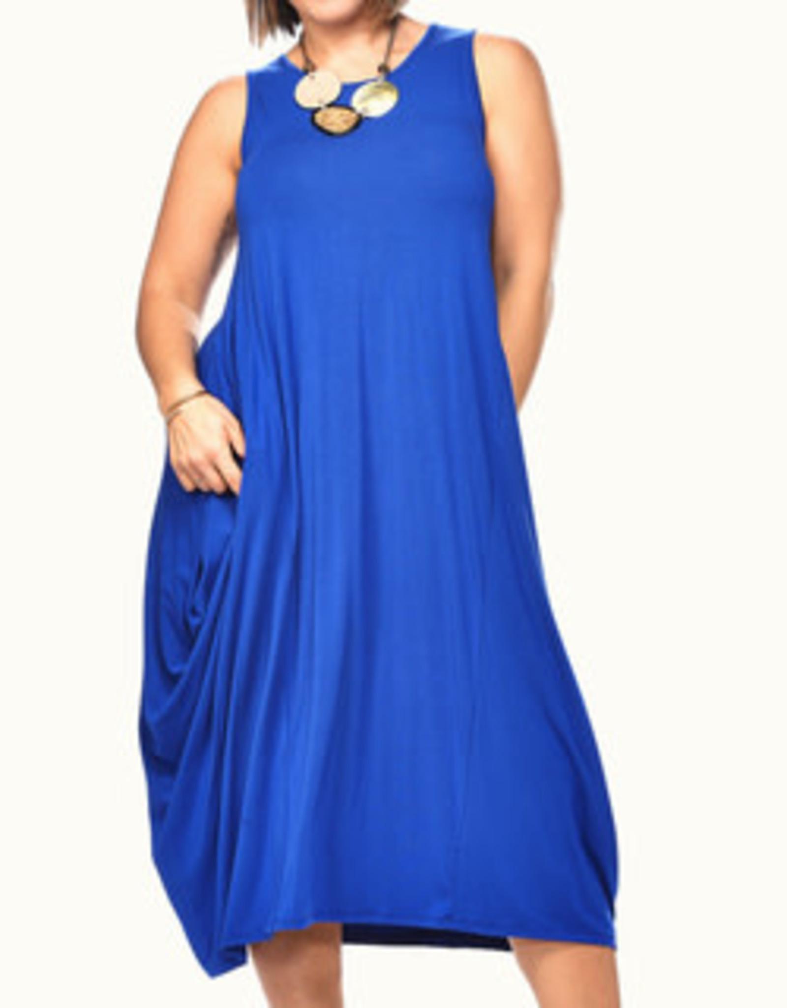 Rapz Rapz 4318 Bamboo Midi Dress with Pockets