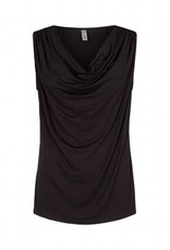 Soya Concept Soya Concept Marica 104  Sleeveless Top With Scoop Neck