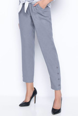 Picadilly Picadilly MM960 Pull On Slim Pants With Buttons