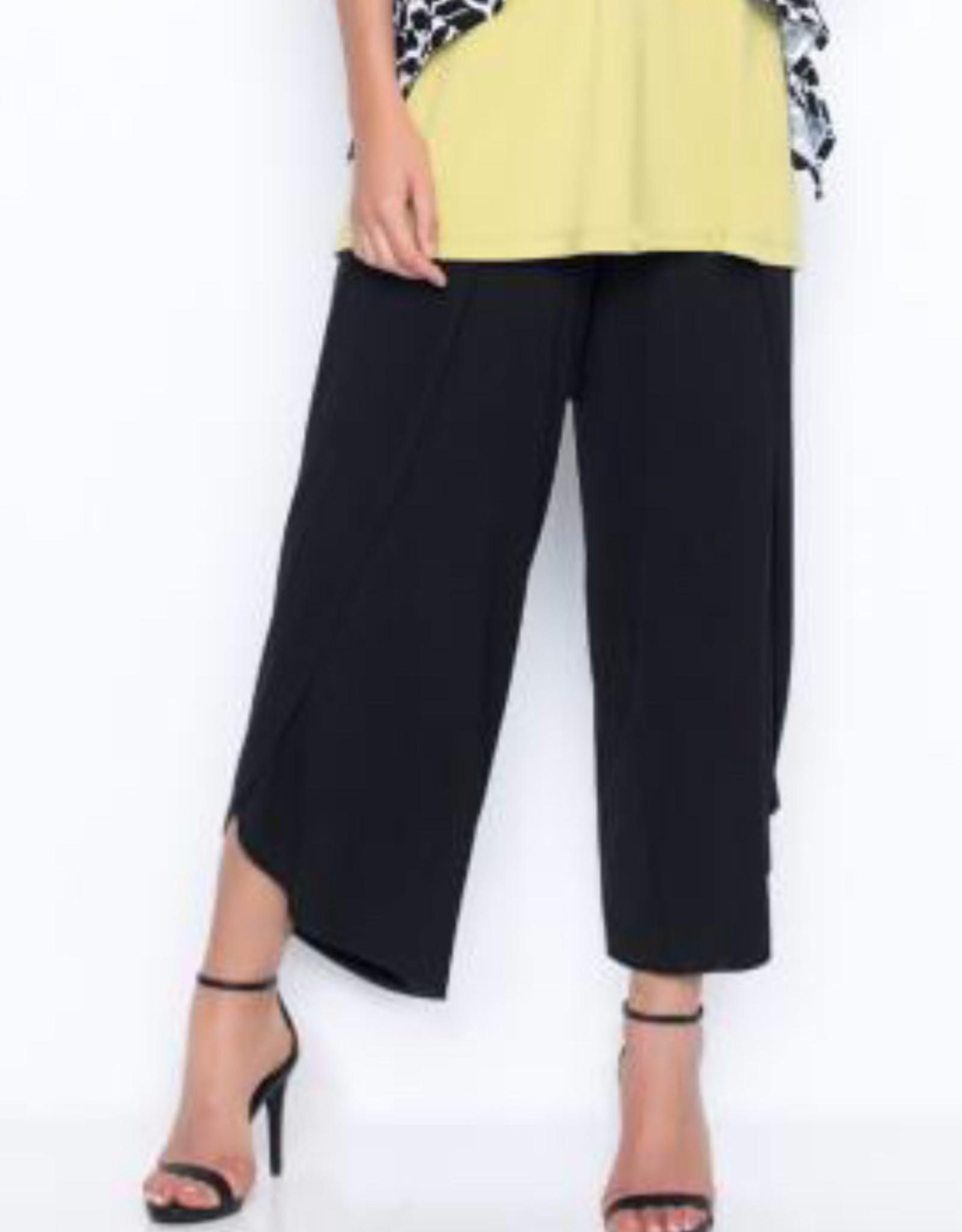 Picadilly Pickadilly MR933 Drawstring Waist Wrap Capri Pants