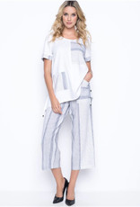 Picadilly Pickadilly MM967PF Wide Leg Pants With Pockets