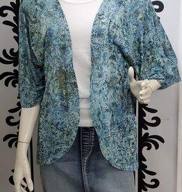 ISCA Short Sleeve Multi Pattern Lightweight Cardigan 8228660