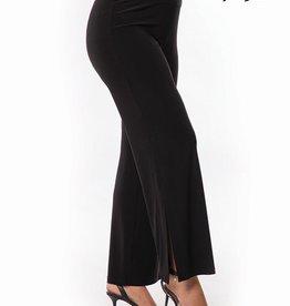 Bali Bali 7191 Wide Leg Pant With Split at Ankle