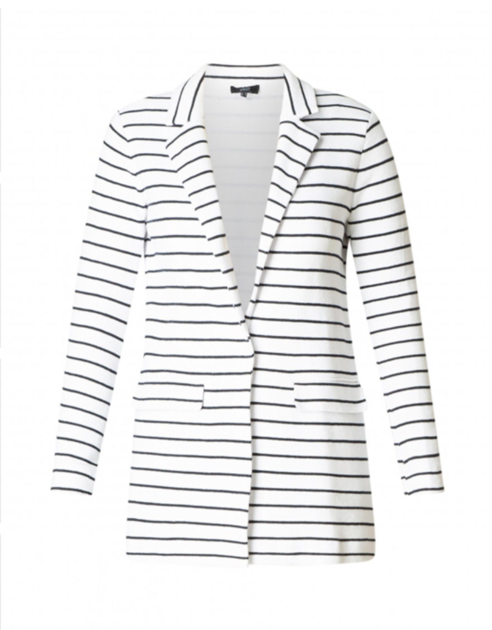 Yest Yest Cotton Striped Blazer722