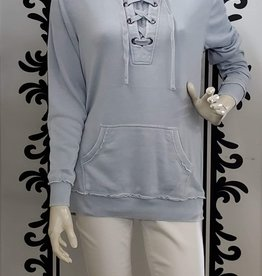 Keren Hart Hoodie with Lace detail