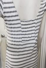 Keren Hart Long Striped Dress