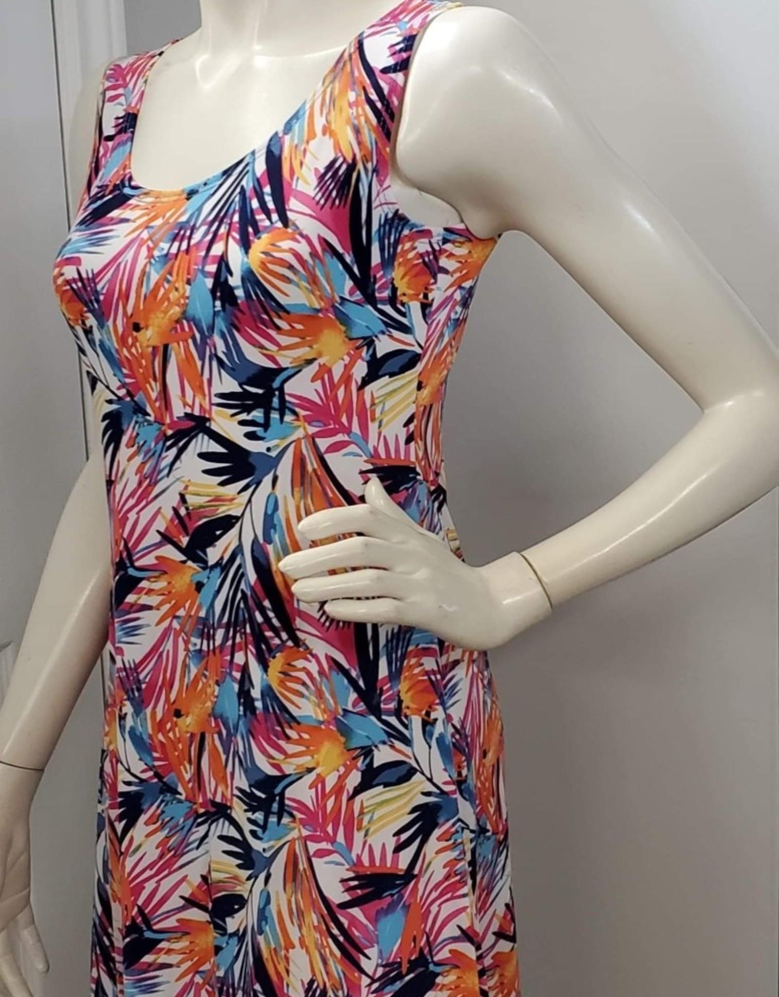 Keren Hart Tropical Leaf Dress
