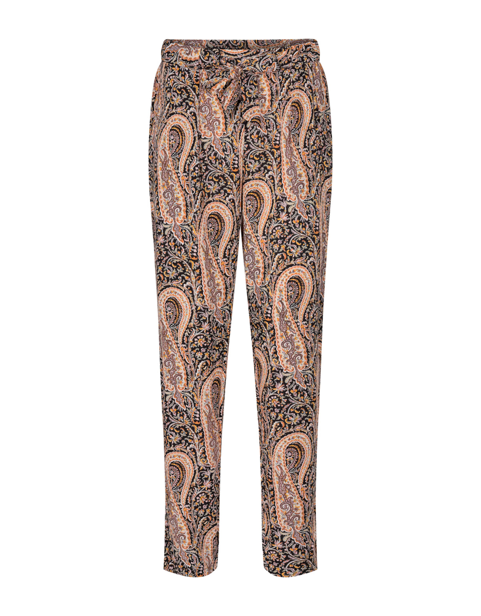 Soya Concept Soya Concept Olga 4  Paisley Pattern Pull on Pant with Pockets