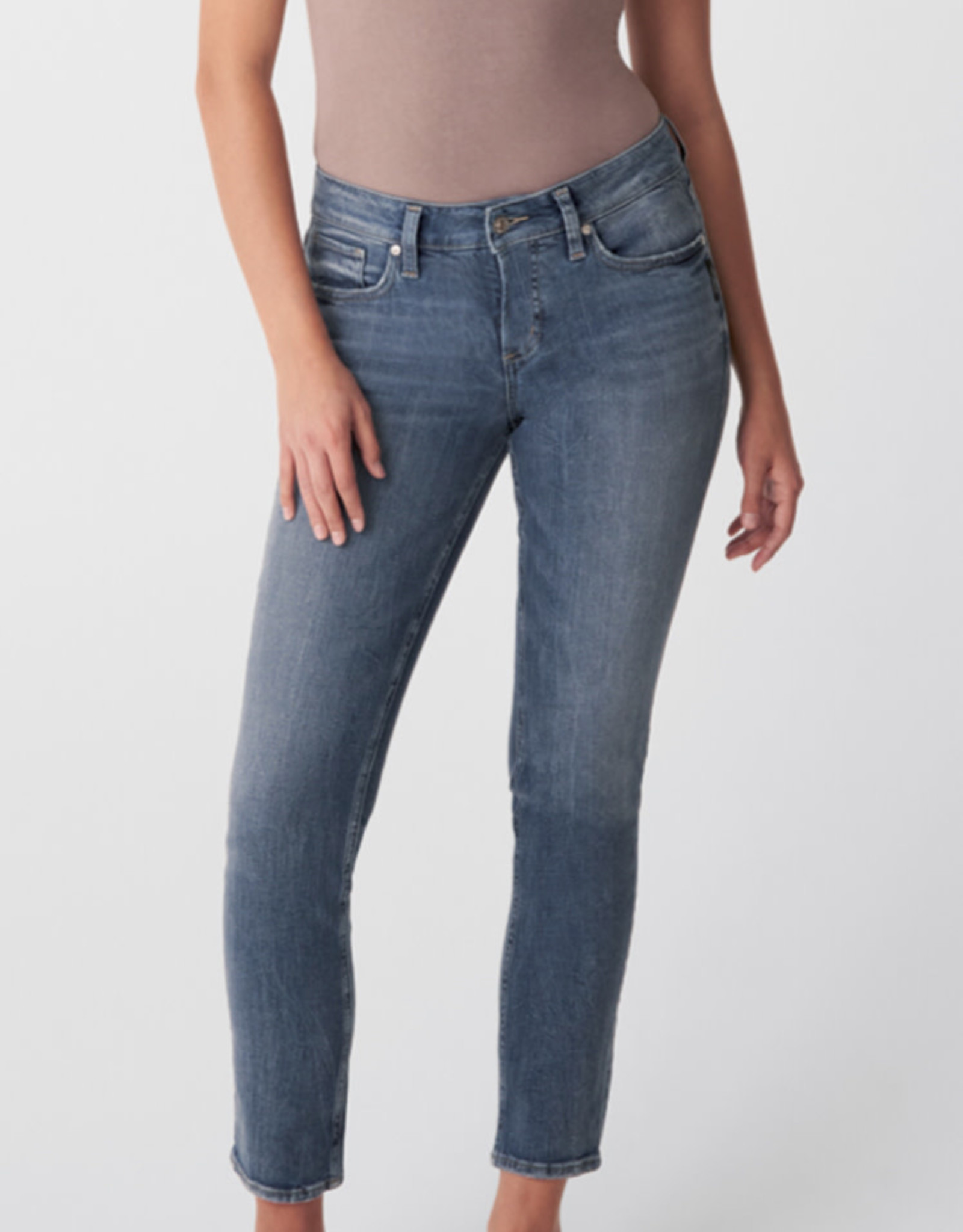 Silver Silver Elyse straight leg jeans L03403EPX292