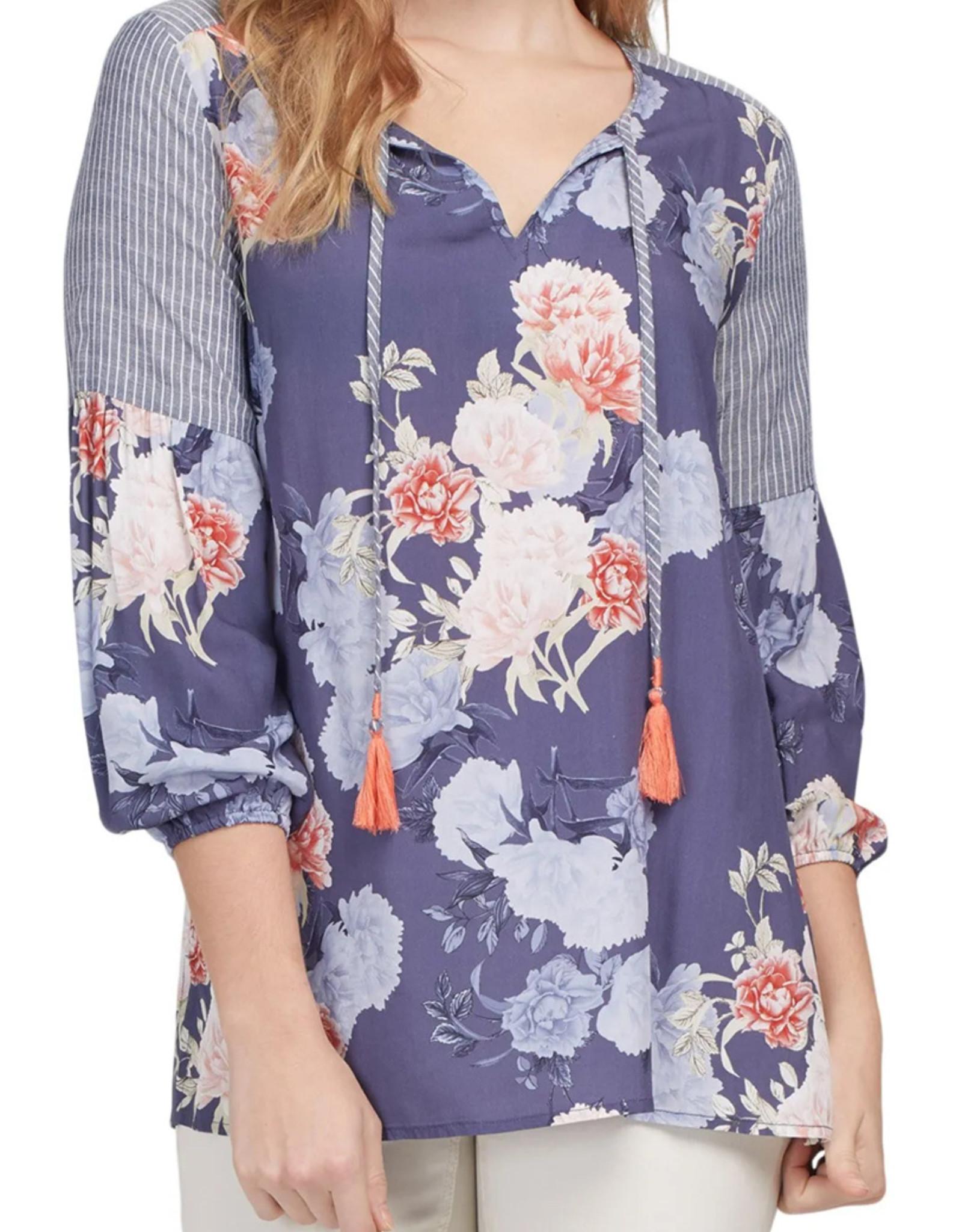 Tribal Tribal 3/4 sleeve blouse 7097O